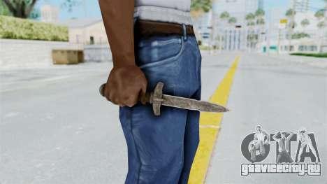 Skyrim Iron Dager для GTA San Andreas третий скриншот