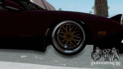 Nissan 180SX TOD для GTA San Andreas вид сзади