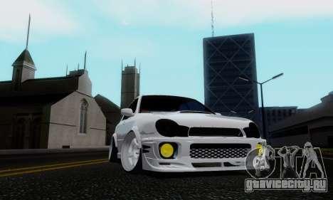 Subaru Impreza WRX STi Wagon Stens для GTA San Andreas