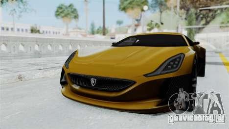 Rimac Concept One для GTA San Andreas