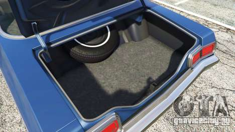 Oldsmobile Delta 88 1973 v2.0 для GTA 5 руль и приборная панель
