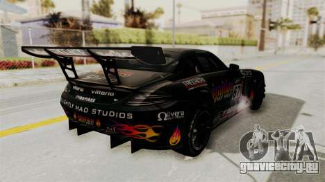 Mercedes-Benz SLS AMG GT3 PJ1 для GTA San Andreas вид сверху