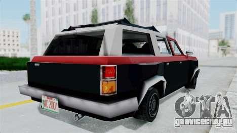 VCS Gang Rancher для GTA San Andreas вид сзади слева
