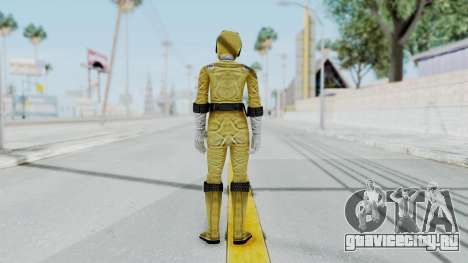 Power Rangers RPM - Yellow для GTA San Andreas третий скриншот