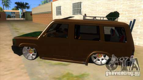 Toyota Kijang Grand Extra Full для GTA San Andreas вид слева