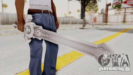 Horse Orphnoch Sword для GTA San Andreas третий скриншот