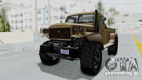 GTA 5 Bravado Duneloader Cleaner для GTA San Andreas вид справа