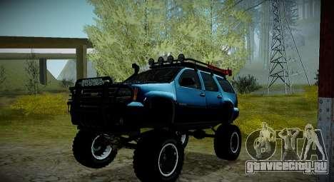 Chevrolet Tahoe LTZ 4x4 для GTA San Andreas