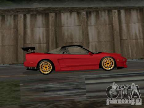 Honda NSX (NA1) Time Attack для GTA San Andreas вид слева