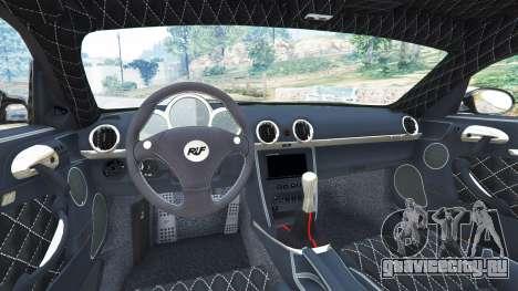 Ruf CTR3 v1.1 для GTA 5 вид сзади справа