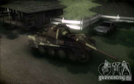 Panther II для GTA San Andreas вид сзади слева