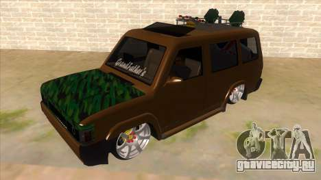 Toyota Kijang Grand Extra Full для GTA San Andreas