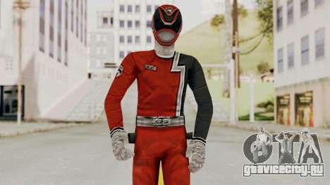 Power Rangers S.P.D - Red для GTA San Andreas