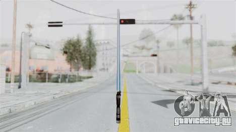 Star Wars LightSaber Blue для GTA San Andreas второй скриншот