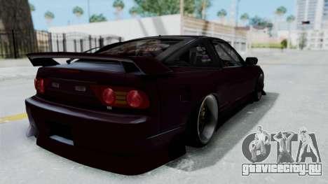 Nissan 180SX TOD для GTA San Andreas вид сзади слева