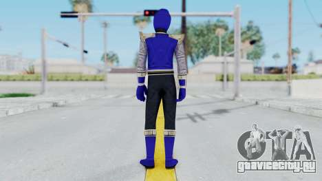 Power Rangers Ninja Storm - Navy для GTA San Andreas третий скриншот