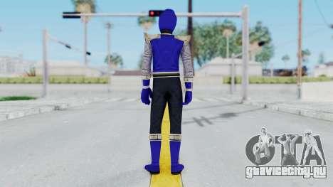 Power Rangers Ninja Storm - Navy для GTA San Andreas третий скриншот