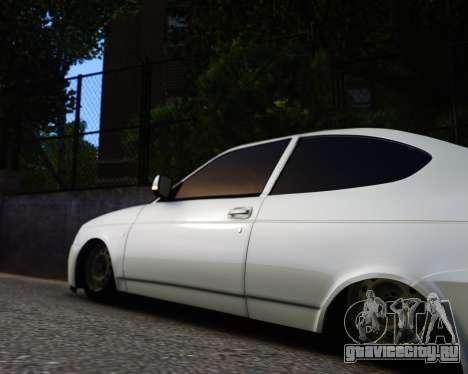 Lada Priora Coupe для GTA 4 вид справа