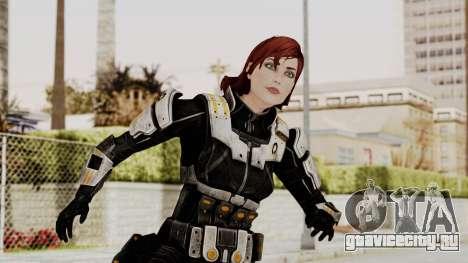 Mass Effect 3 Female Shepard Ajax Armor для GTA San Andreas