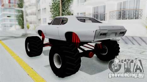Pontiac GTO 1968 Monster Truck для GTA San Andreas вид слева