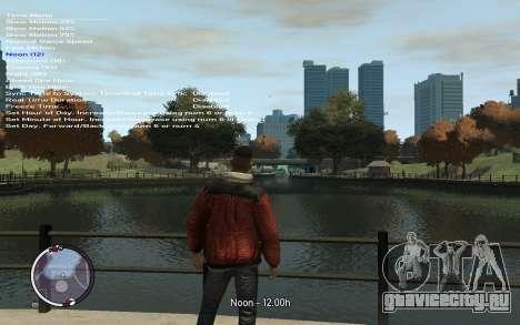 Native Trainer GTA EFLC ENG [STEAM] для GTA 4 пятый скриншот