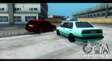 Volkswagen Jetta Mk2 для GTA San Andreas вид слева