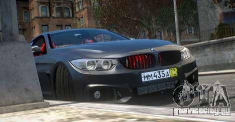 BMW 435i Coupe для GTA 4 вид справа