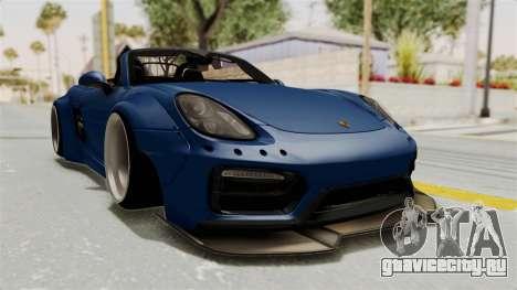 Porsche Boxster Liberty Walk для GTA San Andreas вид справа
