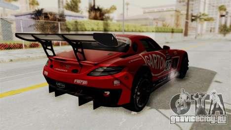 Mercedes-Benz SLS AMG GT3 PJ1 для GTA San Andreas салон