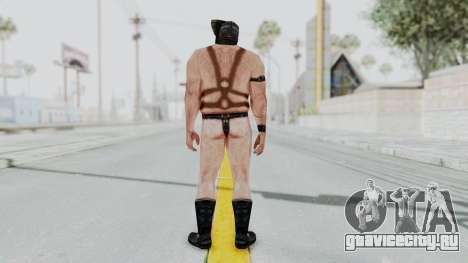 Manhunt 2 - Gimp Bouncer для GTA San Andreas третий скриншот
