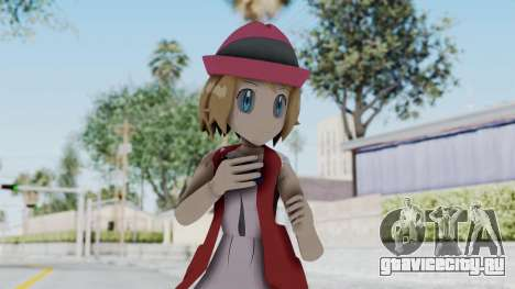 Pokémon XY Series - Serena (New Outfit) для GTA San Andreas