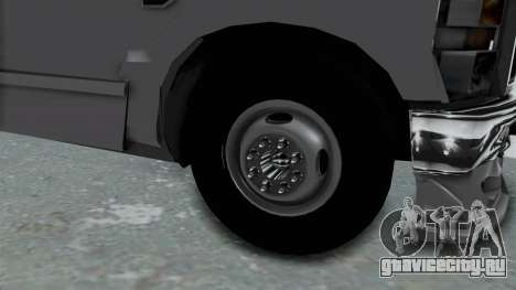 Ford F-350 для GTA San Andreas вид сзади
