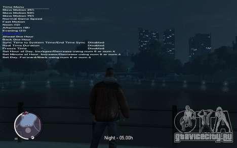 Native Trainer GTA EFLC ENG [STEAM] для GTA 4 шестой скриншот
