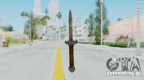 Skyrim Iron Dager для GTA San Andreas