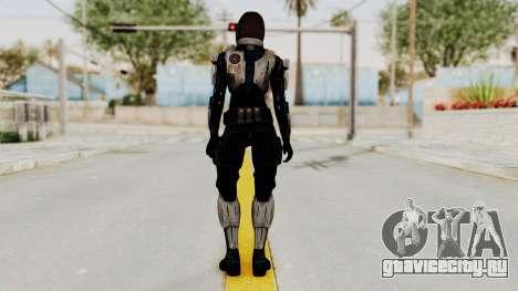 Mass Effect 3 Miranda Short Hair Ajax Armor для GTA San Andreas третий скриншот