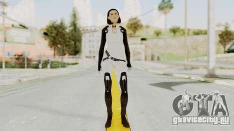 ME3 Dr. Eva Custom Miranda Castsuit для GTA San Andreas второй скриншот