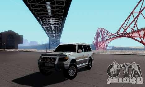 Mitsubishi Pajero 2 для GTA San Andreas