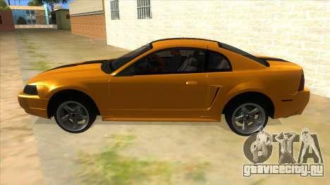2003 Ford Mustang для GTA San Andreas вид слева
