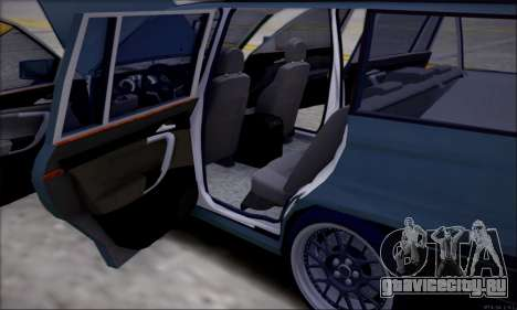 Opel Astra для GTA San Andreas вид сбоку