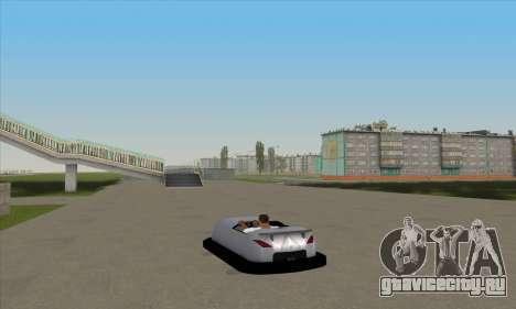 Автомобиль для автодрома для GTA San Andreas вид слева
