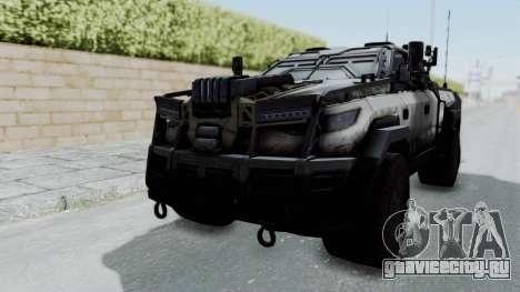 Advanced Warfare Tactical Pickup для GTA San Andreas