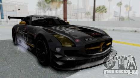 Mercedes-Benz SLS AMG GT3 PJ5 для GTA San Andreas вид сбоку