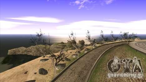 Строительство моста и густой лес для GTA San Andreas десятый скриншот