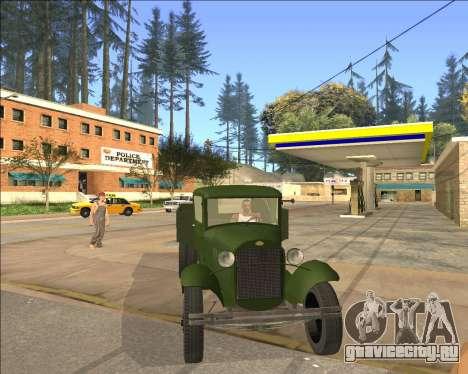 Газ АА Полуторка для GTA San Andreas вид сзади слева