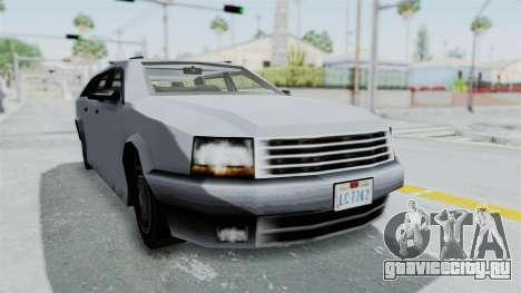 GTA LCS Sindacco Argento v2 для GTA San Andreas вид справа