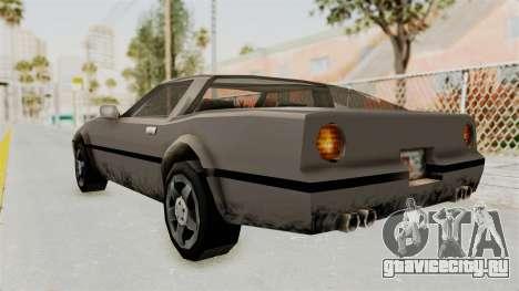 Beta VC Banshee для GTA San Andreas вид сзади слева