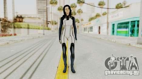 Mass Effect 3 Miranda in Evas Catsuit для GTA San Andreas второй скриншот