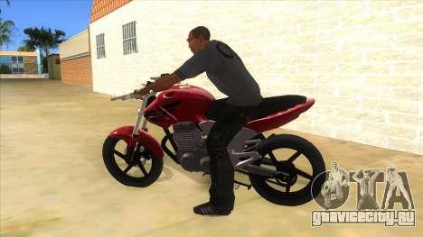 Honda Twister Stunt для GTA San Andreas вид слева