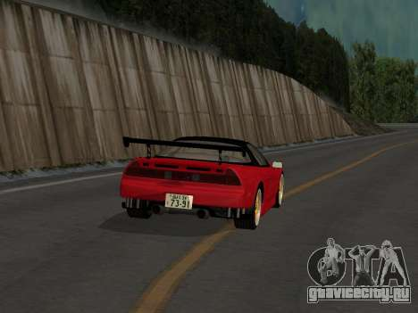 Honda NSX (NA1) Time Attack для GTA San Andreas вид справа