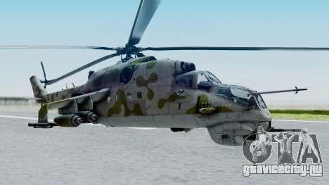 Mi-24V Soviet Air Force 14 для GTA San Andreas